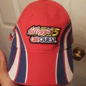 Vintage Kellogg's 5 car quest hat